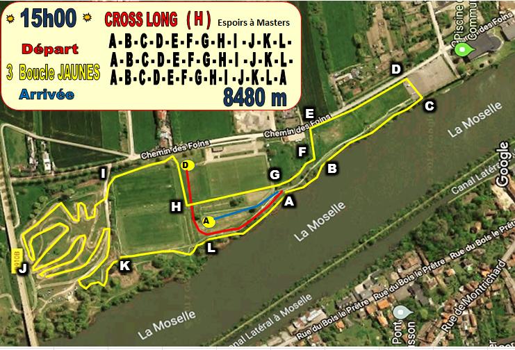 Cross long hommes 15h 8480m