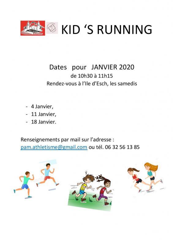 Dates kid s running janvier 2020 page 001