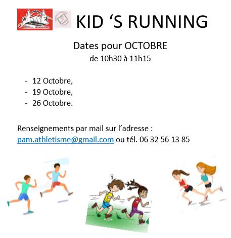 KID'S RUNNING