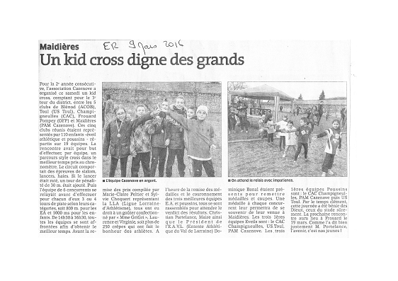 Kid Cross Maidieres 2016